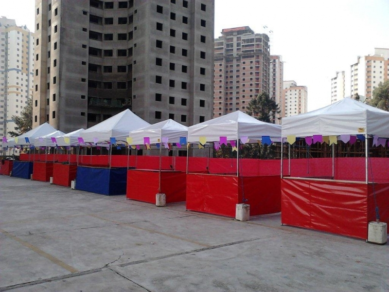 Alugar Barraquinha Moema - Locação de Barracas para Eventos