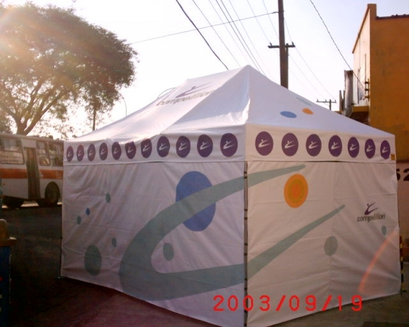 Barraca Personalizada para Evento Preço Santo André - Barraca Personalizada