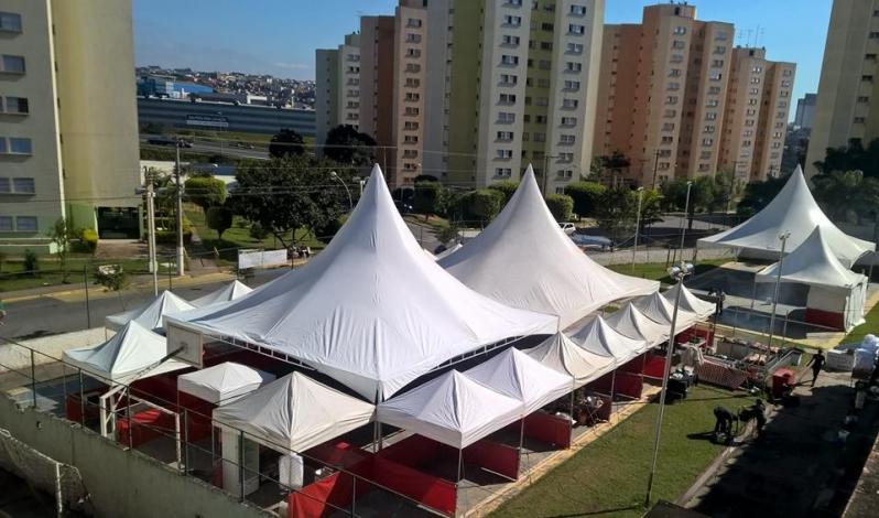 Barraca Tipo Tenda Piramidal Santana de Parnaíba - Tenda Piramidal para Venda