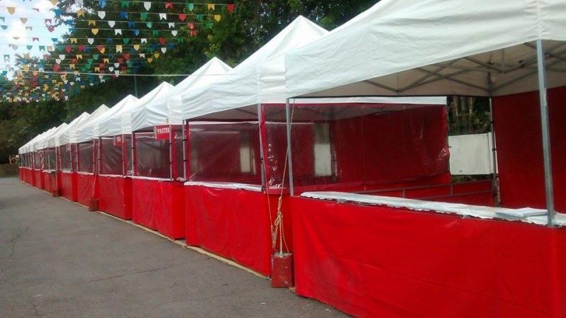 Barracas para Eventos Personalizadas Água Rasa - Barracas para Eventos