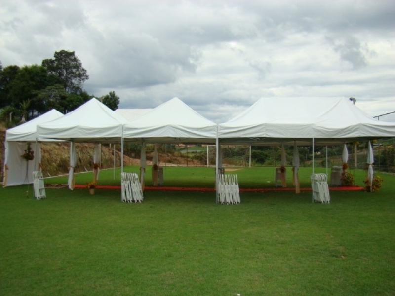Cobertura para Festa de Casamento Preço Cachoeirinha - Locação de Coberturas para Feiras