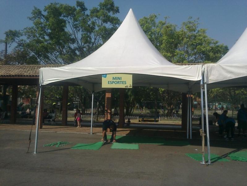 Fabricante de Tenda para Eventos Parque Peruche - Fabricante de Tenda Piramidal