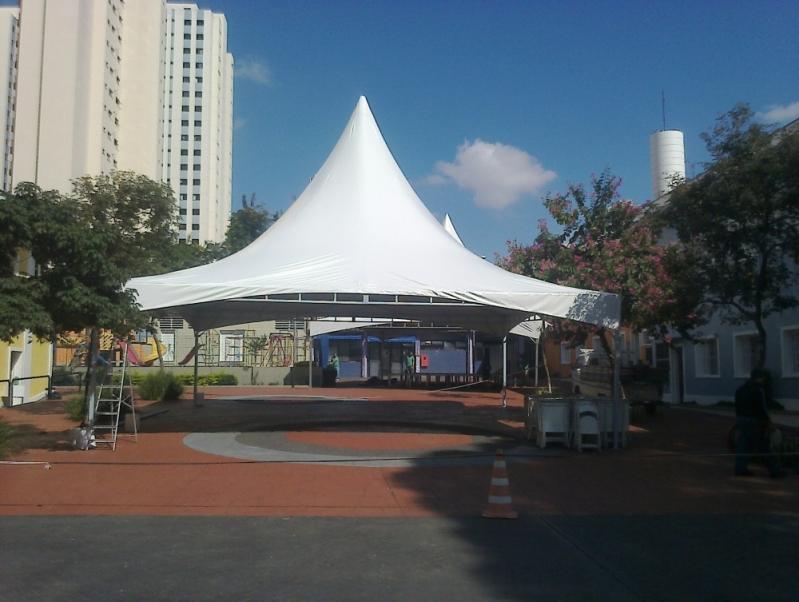 Locação de Coberturas para Festas Preço Campo Belo - Locação de Coberturas em Sp