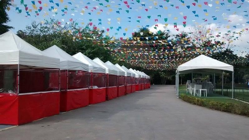 Onde Encontrar Barracas para Eventos Personalizadas Jardim Iguatemi - Locação de Barracas Juninas