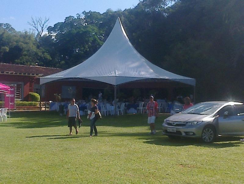 Onde Encontrar Tenda Piramidal para Alugar Caieiras - Tenda Piramidal para Comprar