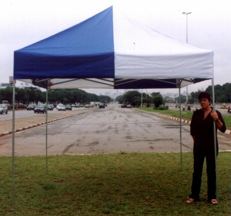 Tenda 3x3 Sanfonada Preço Mogi das Cruzes - Tenda 3x3 com Proteção Lateral
