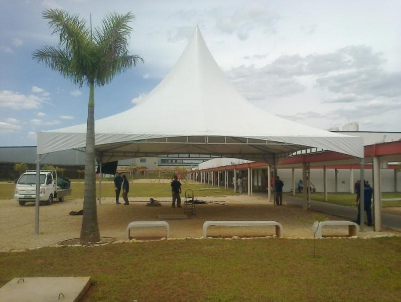 Tenda Piramidal para Alugar Carandiru - Tenda Piramidal para Comprar