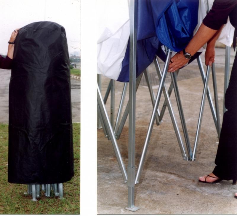 Tendas 3x3 Sanfonadas Alto de Pinheiros - Tenda 3x3 Articulada