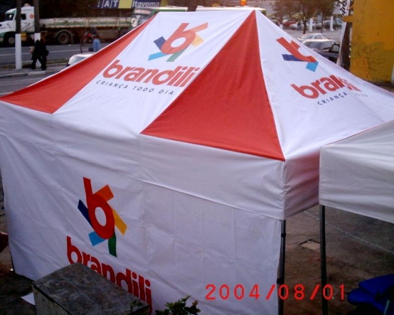 Tendas Articulada Personalizadas Parada Inglesa - Barraca Infantil Personalizada