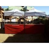 alugar barracas preço Parque do Carmo