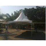 alugueis de tendas para eventos Cidade Ademar