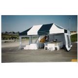 aluguel de barracas para eventos Vila Leopoldina