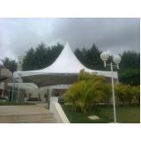 aluguel de tenda e coberturas Taboão da Serra