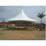 aluguel de tenda para eventos preço Anália Franco