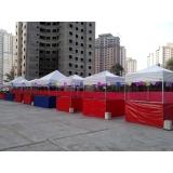 aluguel de tenda para festa junina M'Boi Mirim