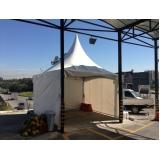 aluguel de tendas de tecido Santa Isabel