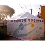 aluguel de tendas para eventos em Jaçanã