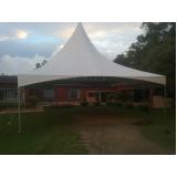 aluguel de tendas para festas de casamento em Santo Amaro