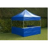 barraca sanfonada tendas pantográfica articulada Mauá