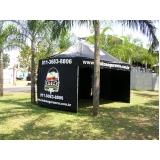 fábrica de tendas personalizadas Jardim Guarapiranga