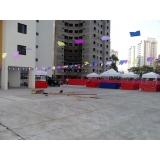 locação de barraquinhas para festa junina Campo Limpo