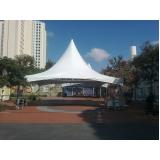 locação de coberturas e tendas preço Jardim Bonfiglioli