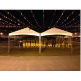 locação de coberturas para festas e eventos Rio Pequeno