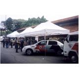 locações de barracas para feiras Caieiras