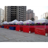 locações de tenda para festa junina Vila Maria