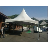 onde encontrar aluguel de tendas de tecido Guararema