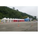 onde encontrar tenda para locação Caieiras