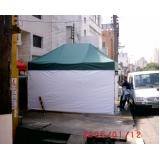 onde encontrar tenda sanfonada dobrável na Vila Andrade