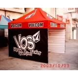 onde encontrar tendas 3x3 para alugar Vila Clementino