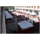 quanto custa aluguel de tendas para festas de casamento em Mairiporã