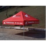 quanto custa confecção de tendas personalizadas na Vila Buarque