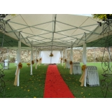 quanto custa locação de tendas para casamentos Jardim Ângela