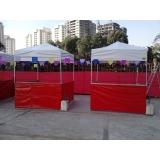 quanto custa tenda 2x2 com balcão Parque São Domingos