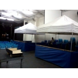 quanto custa tenda 3x3 com balcão Jardim Europa