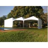 quanto custa tenda para locação Carapicuíba