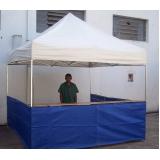 quanto custa tenda sanfonada com balcão Campo Grande