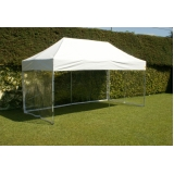 quanto custa tenda sanfonada dobrável na Vila Guilherme
