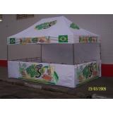 quanto custa tenda sanfonada personalizada em São Domingos
