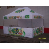 quanto custa tenda sanfonada personalizada na Vila Prudente