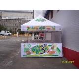 quanto custa tendas balcão 4x5 Parque São Domingos
