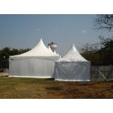 quanto custa tendas para alugar Parque Peruche