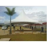 tenda pantográfica para locação em Perus