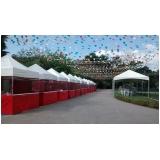 tenda para locação preço Vila Mazzei