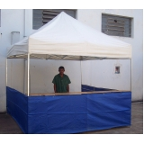 tenda para praia articulada em Perdizes