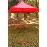 tenda sanfonada 3x3 personalizada no Capão Redondo