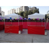 tenda sanfonada articulada preço em São Bernardo do Campo